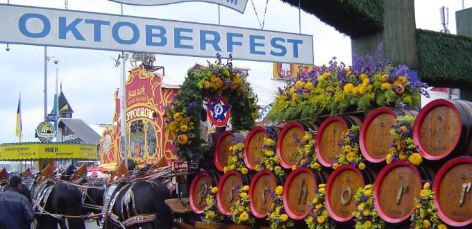 Пивной фестиваль «Октоберфест». Даты проведения